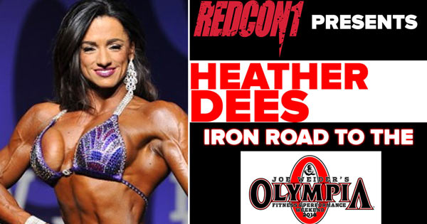 heather dees interview pre 2018 olympia