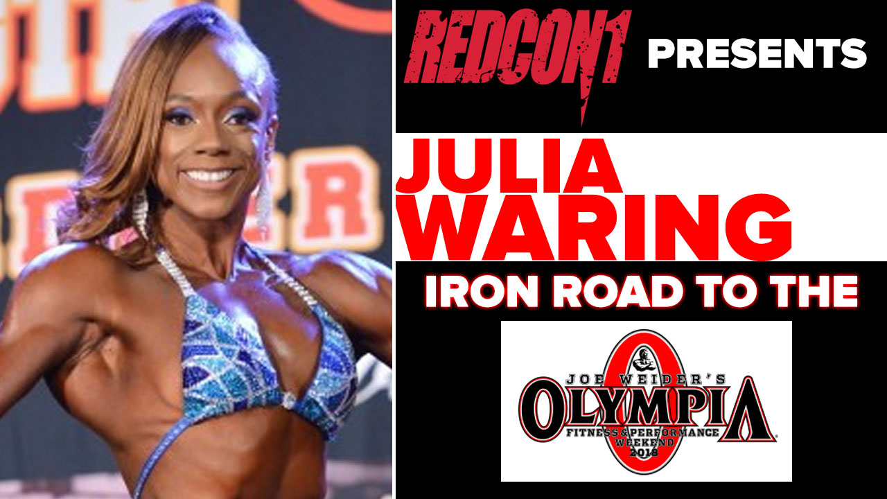 julia waring interview pre olympia 2018