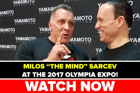 milos sarcev interview olympia 2017