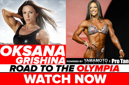 oksana grishina interview pre olympia 2017