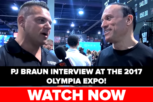 pj braun interview olympia