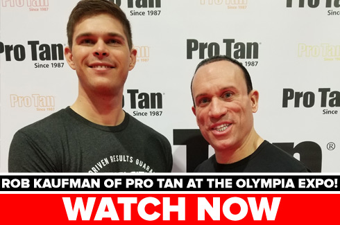 pro tan interview olympia expo