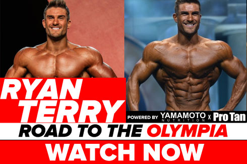 ryan terry interview pre olympia 2017