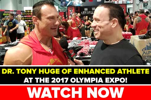 tony huge interview olympia 2017
