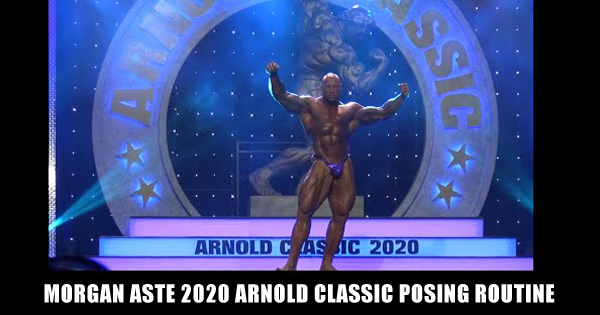 Morgan Aste 2020 Arnold Classic Posing Routine
