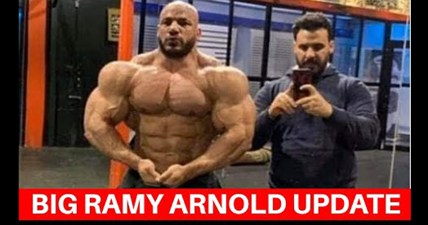 BIG RAMY 8 WEEKS OUT