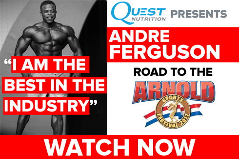 andre ferguson arnold classic interview