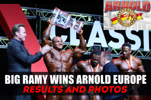 big ramy wins arnold Europa