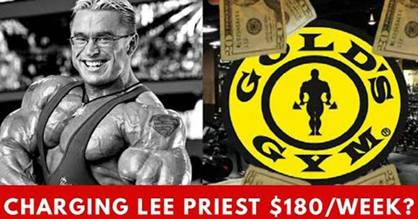 charging lee priest at golds