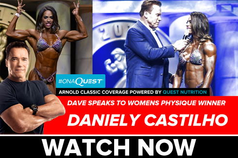daniely castilho interview after arnold classic 2017