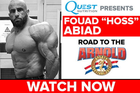 fouad abiad interview arnold classic 2017