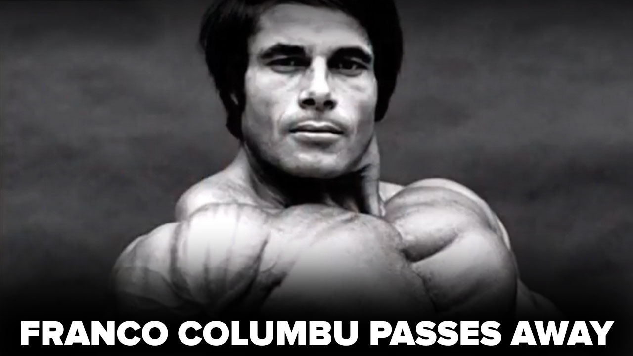 franco columbu passes away