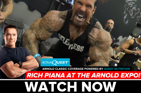 rich piana interview arnold classic 2017