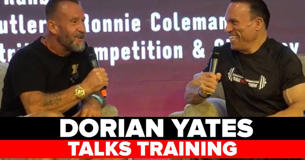 dorian yates talks training
