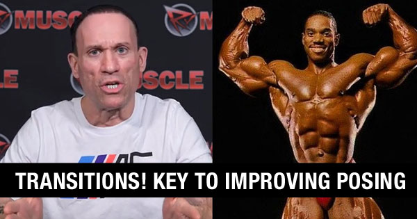 transitions key to posing