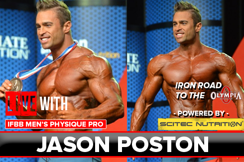 interview with jason poston rxmuscle preview olympia 2016