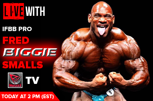 live with ifbb pro fred biggie smalls interview