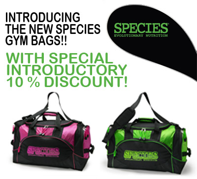 Species Gym Bags