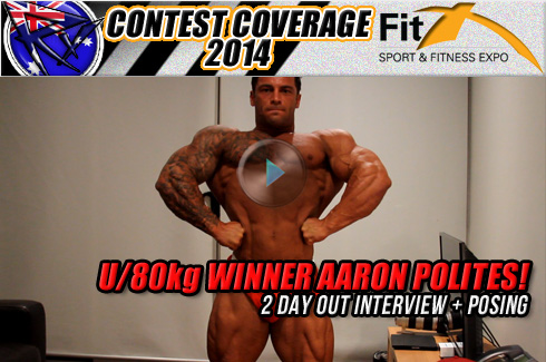 Aaron Polites fitx 2014 interview posing michael galley