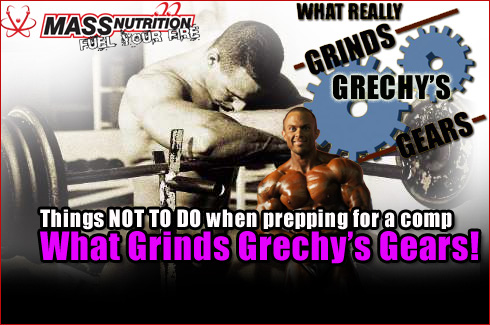 What grinds grechys gears things not to do