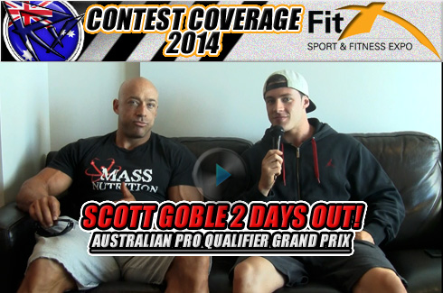 FitX Scott Goble pre show interview
