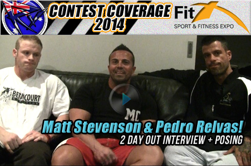 Matt STevenson Pedro Relvas Michael Galley interview video fitx 2014