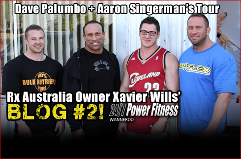 Xavier Wills blog 2 Luke Fuller Dave Palumbo Aaron Singerman Bulk Nutrients
