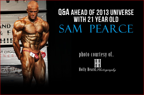 Sam Pearce interview holly heard photography