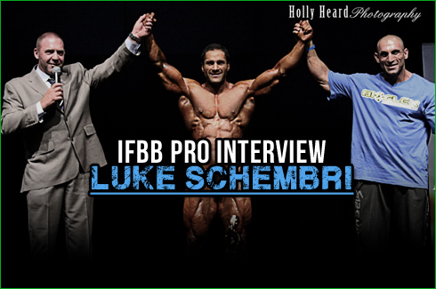 IFBB Pro Luke Schembri Holly Heard Photography