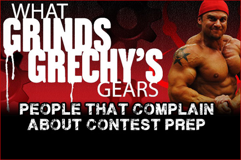 Mark Grech What grinds grechys gears contest prep complain