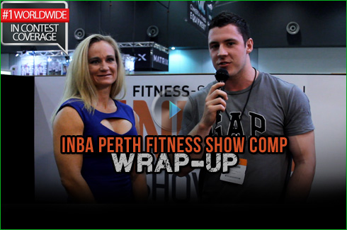 INBA Perth Fitness Show expo wrapup video sam attrill xavier wills