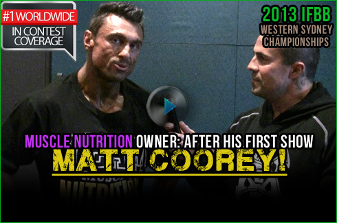 Matt Coorey Muscle Nutrition interview Michael Galley