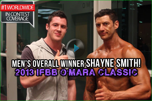 Shayne Smith Xavier Wills overall winner omara classic ifbb interview