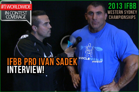 ivan sadek ifbb pro michael galley interview