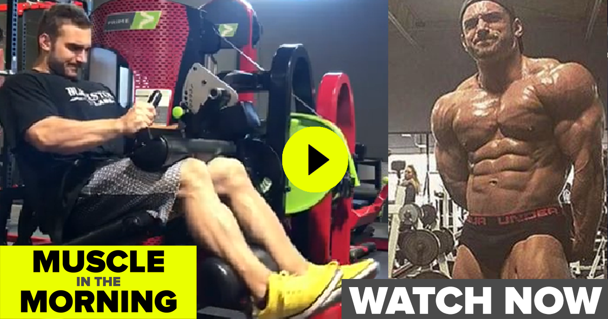 cody montgomery leg workout