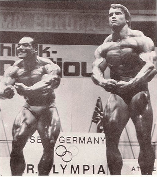 1972 Mr. Olympia - Crab Pose