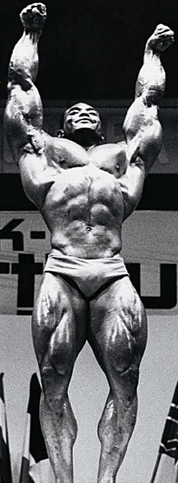 Sergio Victory Pose 72 Olympia