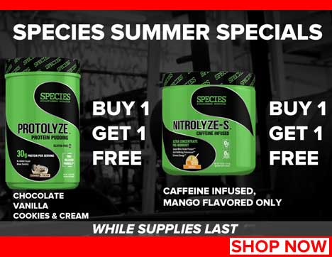 Exclusive for RXMuscle visitors
