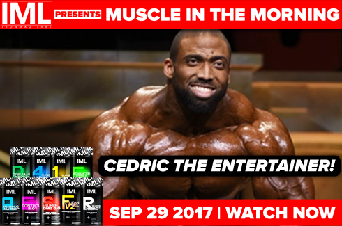 cedric mcmillan muscle in the morning