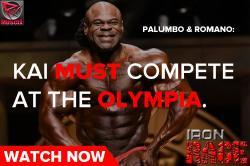 Kai Greene & The Olympia - Iron Rage