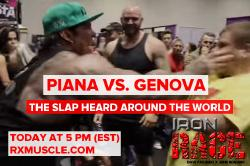Rich Piana's Slap Heard Round the World! Iron Rage - LIVE 5/4/16