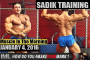 SADIK TRAINING! - Muscle In The Morning January 4, 2017