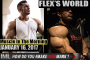 FLEX'S WORLD! - Muscle In The Morning January 16, 2017