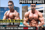 POSTON UPDATE! - Muscle In The Morning January 19, 2017