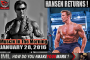 HANSEN RETURNS!- Muscle In The Morning January 28, 2016