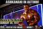 ASHKANANI IN ACTION! - Muscle In The Morning January 30, 2017