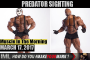 PREDATOR SIGHTING ! - Muscle In The Morning March 17, 2017