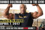 COLEMAN BACK IN THE GYM! - Muscle In The Morning April 7, 2017