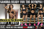 SANDRA READY FOR THE OLYMPIA!- Muscle In The Morning July 7, 2017