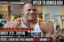 WYLER TO ARNOLD ASIA! - Muscle In The Morning July 22, 2016